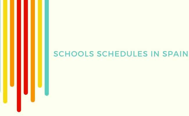 Teaching assistant schedule Madrid