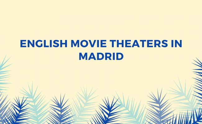 movie theaters in Madrid