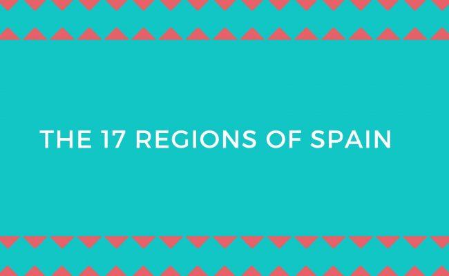 17 Regions Spain