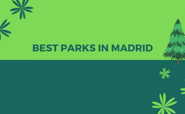 Parks in Madrid title