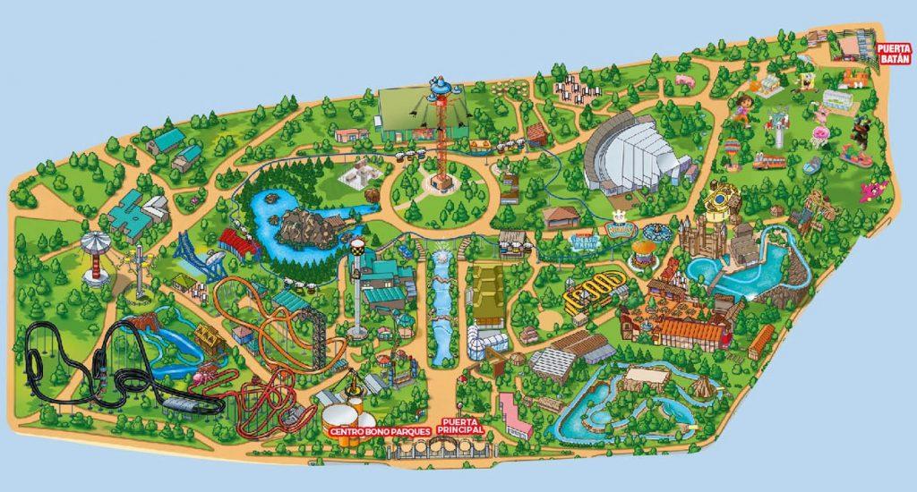 Amusement park Madrd