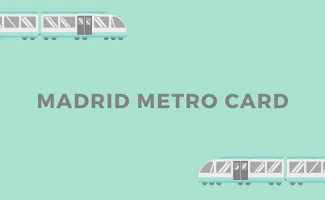 GET MADRID METRO PASS