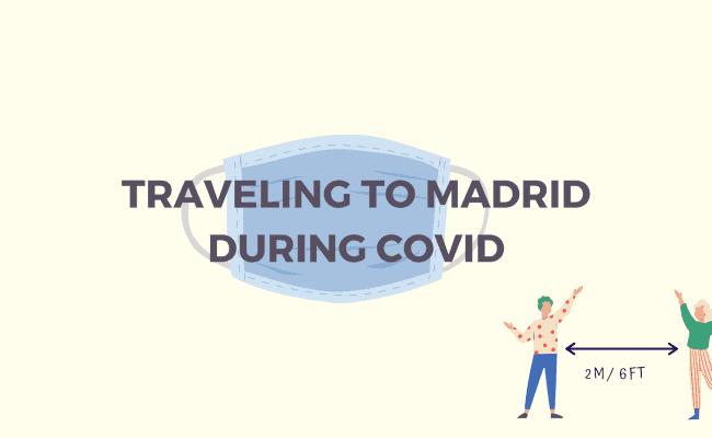COVID IN MADRID