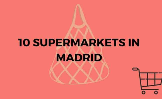 Grocery stores Madrid