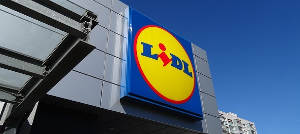 Lidl grocery store Madrid