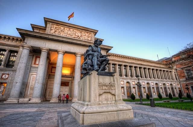 Museum in Madrid Prado