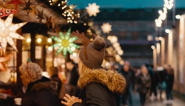 Christmas market in Madrid