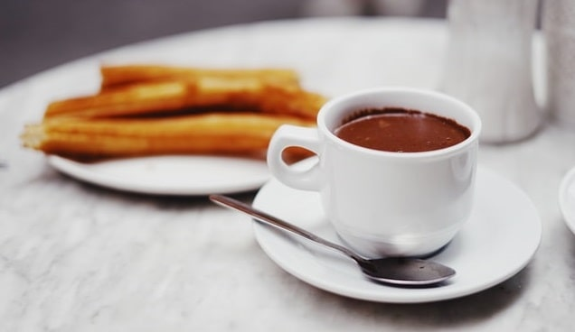 churros things Madrid in winter