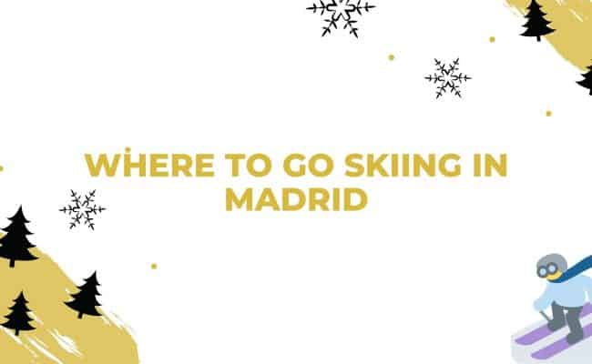 Skiing in Madrid cover