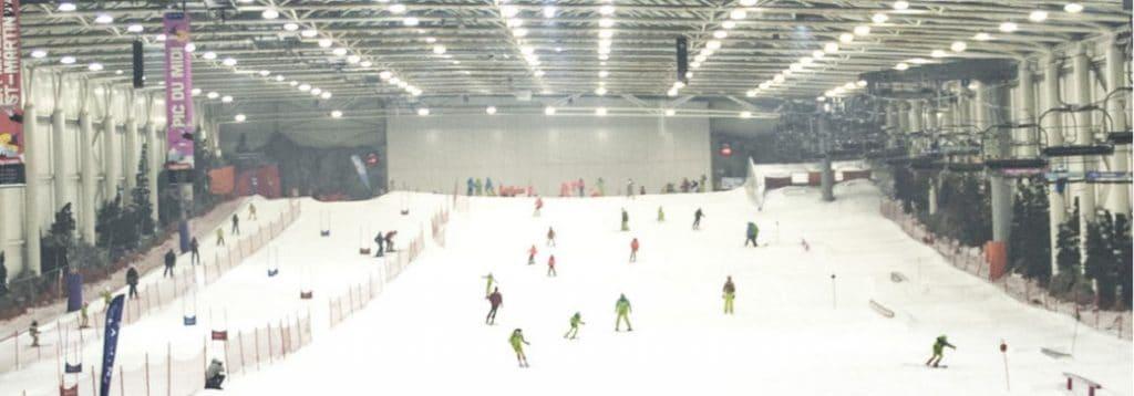 Indoor Ski Slope Madrid