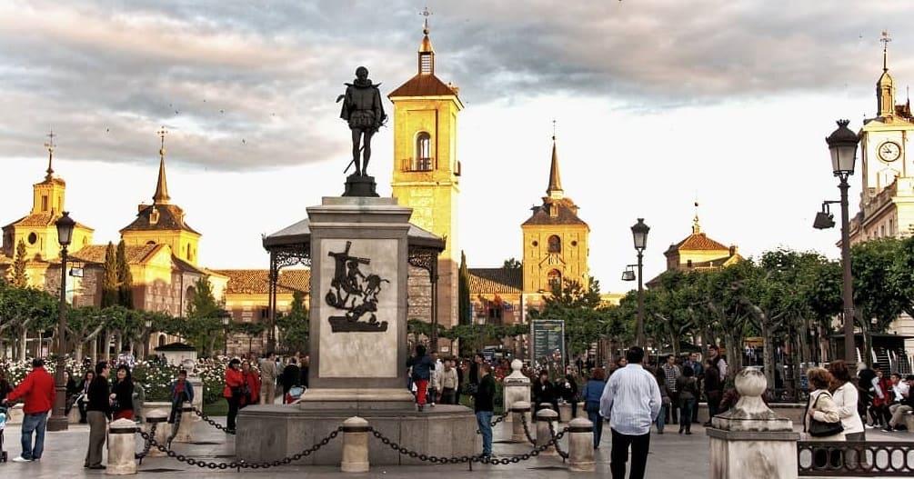 Alcala de Henares main plaza