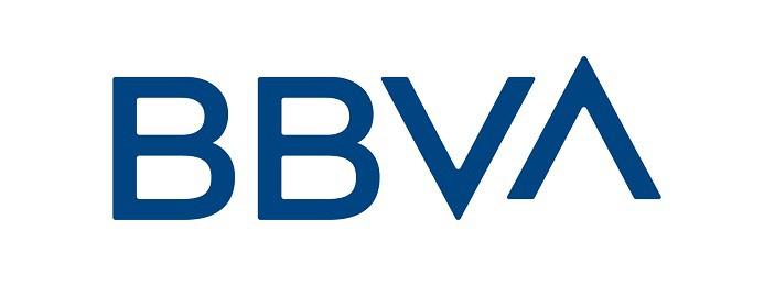 Spanish bank BBVA logo