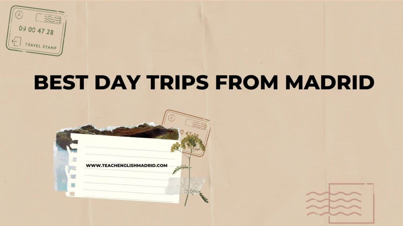 Day trips from Madrid cover