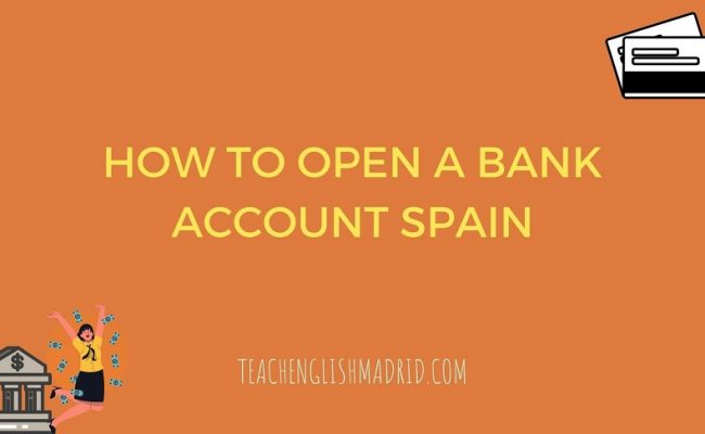 Open a Spanish bank account guide cover