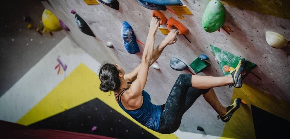 woman boulder Madrid