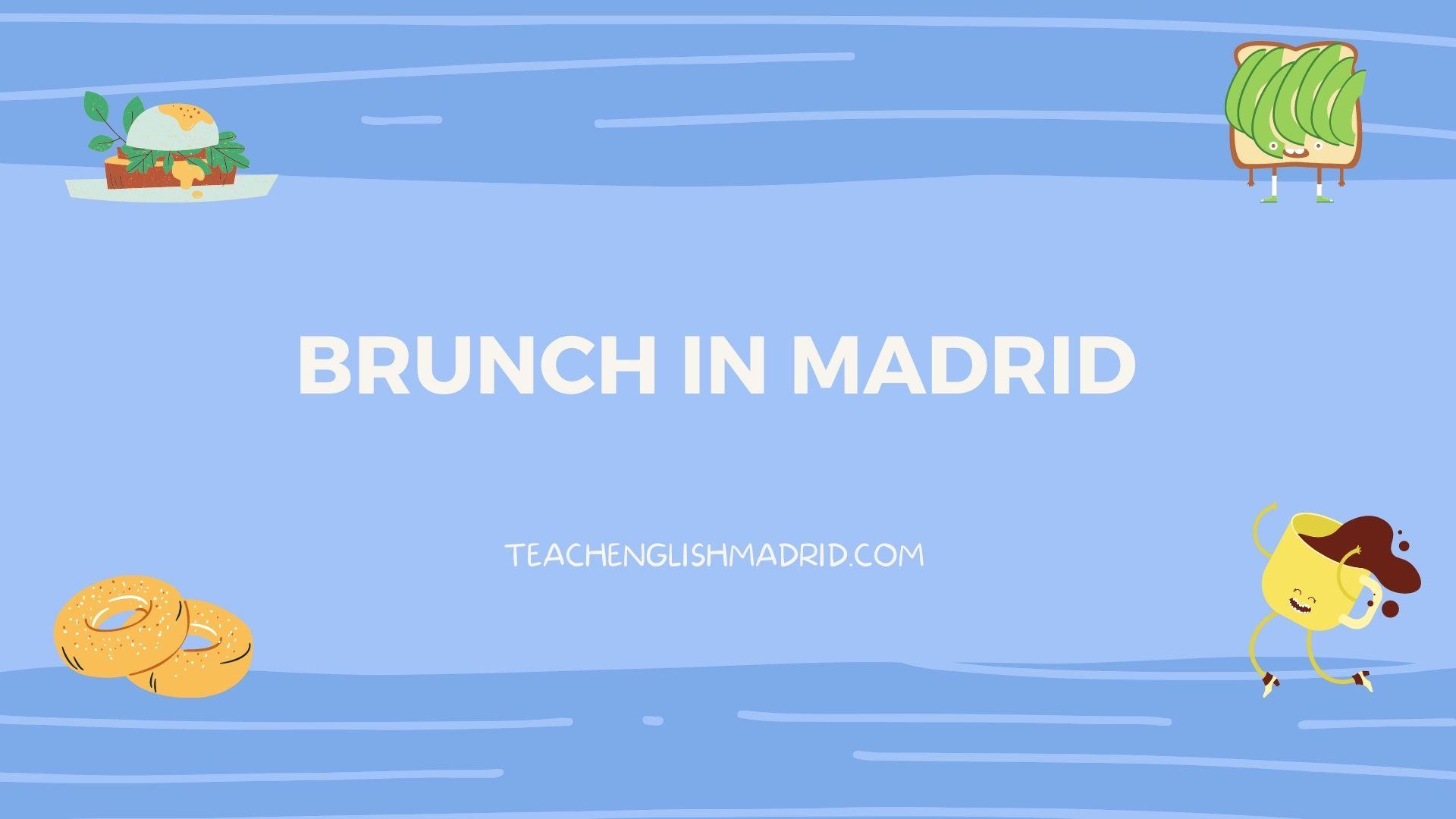 Cafe madrid menu federal brunch Real Madrid