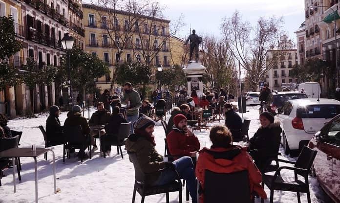 Plaza Cascorro Terrace brunch Madrid
