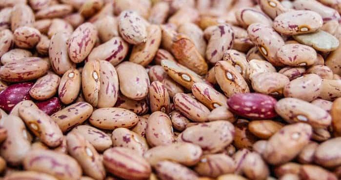 Beans  in bulk organic produce Madrid